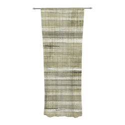"Kess InHouse - CarolLynn Tice ""Simplicity"" Light Brown Decorative Sheer Curtain - Let the light in with these sheer artistic curtains. Showcase your style with thousands of pieces of art to choose from. Spruce up your living room, bedroom, dining room, or even use as a room divider. These polyester sheer curtains are 30"" x 84"" and sold individually for mixing & matching of styles. Brighten your indoor decor with these transparent accent curtains."