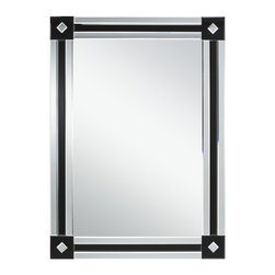 Kichler Lighting - Kichler Lighting 78183 Transitional Rectangular Mirror - This versatile Franca mirror combines an elegant Clear finish with classic detailing to create a refined and streamlined accent that will effortlessly complement any space in your home.
