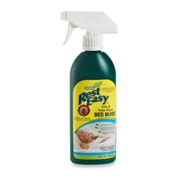 H. Schultz & Sons - Rest Easy Bed Bug Repellent Spray - This organic bed bug spray kills and repels bed bugs naturally. It is specially formulated with environmentally friendly natural essential oils and contains no harsh chemicals or pesticides, making it safe to use around children and pets.