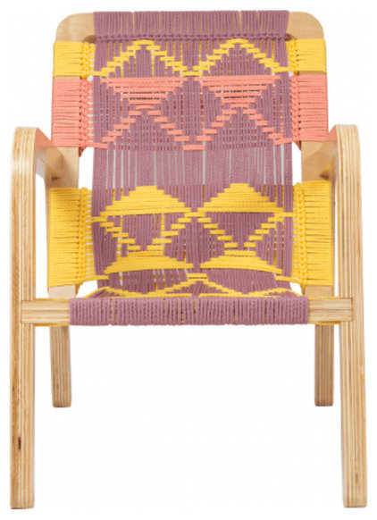 Contemporary Outdoor Chairs by purehome