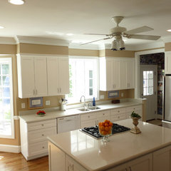 contemporary kitchen by Case Remodeling