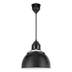 Thomas O'Brien Large Eugene Pendant Light - Rustic industrial is all the rage in kitchen designs right now, so it's little wonder that we keep seeing these eye-catching pendants all over the place. They capture the style so well, all the while providing ample light over an island or workspace. Stylish and practical? Sounds good to me.