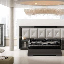 Macral Design. Karen bedroom set  K28 - Headboard K28 for Queen size.