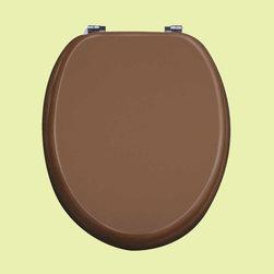 Renovators Supply - Toilet Seats Chrome Fiber Golden Toilet Seat Chr. Hinges | 17099 - Bathroom ...