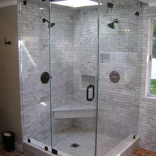 Contemporary Showers by Century Shower Door