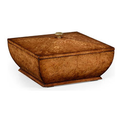 Jonathan Charles - Jonathan Charles Box Light Burr Walnut - Product Details