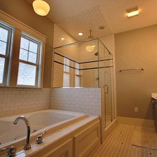 Traditional Bathroom by Tyson Construction