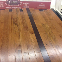 """Solid wood - Cabin grade Oak Gunstock. Available in 2 1/4 and 3 1/4 wide. 3/4"""" thick."""