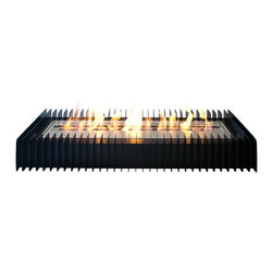 Ignis EBG3600 Ethanol Fireplace Grate - Create a warm, comforting spot in any room of your home with Ignis EBG3600 Ethanol Fireplace Grate. This innovative design enhances the art of the pure bio ethanol flame as it dances romantically in ever-changing patterns. It allows for the extension of the burning time up to nine hours. And its unique flexibility and portability enable to be easily positioned in many different settings.