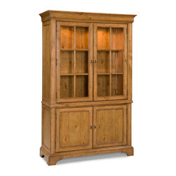 Legacy Classic - Legacy Classic Pleasant Grove Cupboard in Golden Wheat - Legacy Classic Pleasant Grove Cupboard in Golden Wheat 2300-174K