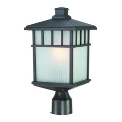 Dolan Designs - Dolan Designs 9116-34 Barton Olde World Iron Outdoor Post Light - Dolan Designs 9116-34 Barton Olde World Iron Outdoor Post Light