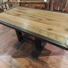 Rustic Dining Tables by Lonepine Lodgepole