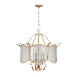 Cyan Design - Cyan Design Maison Four Light Nook Chandelier - Maison Four Light Nook Chandelier