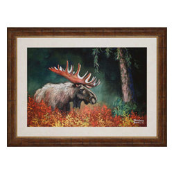 Paragon - Among The Trees - Framed Art - 1262 - Each product is custom made upon order so there might be small variations from the picture displayed. No two pieces are exactly alike.