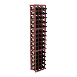 Wine Racks America - 3 Column Magnum/Champagne Wine Kit in Pine, Cherry + Satin Finish - Easy to expand or add to an existing cellar, this Magnum wine racking kit is designed for ultimate flexibility. Our specialized magnum rack accommodates 2 whole cases of abnormally shaped bottles, and then some! We promise this rack will stand up to the test of time.