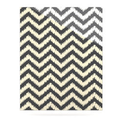 """Kess InHouse - Amanda Lane """"Moonrise Chevron ikat"""" Metal Luxe Panel (16"""" x 20"""") - Our luxe KESS InHouse art panels are the perfect addition to your super fab living room, dining room, bedroom or bathroom. Heck, we have customers that have them in their sunrooms. These items are the art equivalent to flat screens. They offer a bright splash of color in a sleek and elegant way. They are available in square and rectangle sizes. Comes with a shadow mount for an even sleeker finish. By infusing the dyes of the artwork directly onto specially coated metal panels, the artwork is extremely durable and will showcase the exceptional detail. Use them together to make large art installations or showcase them individually. Our KESS InHouse Art Panels will jump off your walls. We can't wait to see what our interior design savvy clients will come up with next."""