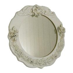Charn & Company - Bella Small Round Mirror - Bella Small Round Mirror