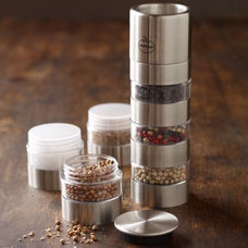 Modern Salt And Pepper Shakers And Mills by Williams-Sonoma
