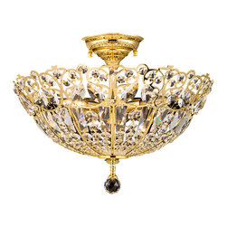 Dale Tiffany - Gold-Plated Dale Tiffany Simsbury Light - Product Details