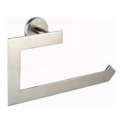 Kraus - Kraus KEA-12225BN Imperium Bathroom Accessories - Towel Ring Brushed Nickel - Kraus offers an elite selection of bathroom accessories that are guaranteed to exceed industry trends and revolutionize your home into the modern marvel it is destined to be