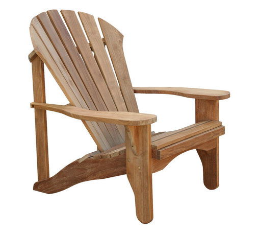 Douglas Nance - Set of 2, Douglas Nance Avondale Adirondack Chair - The Avondale Adirondack Chair is the same design as our Atlantic's, except for the vertical supports at the rear of the backrest.