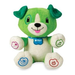 Leap Frog - LeapFrog My Pal Scout Personalized Plush Learning Toy - Early learning is even more fun when it's personalized to engage your little one.
