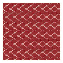 Red Nautical Rope Indoor Outdoor Fabric - Recover your chair. Upholster a wall. Create a framed piece of art. Sew your own home accent. Whatever your decorating project, Loom's gorgeous, designer fabrics by the yard are up to the challenge!