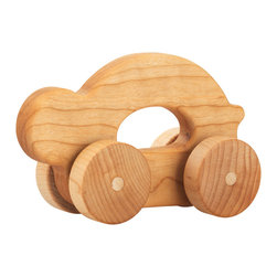Tree Hopper Toys - Hopper Jalopy - Shelly - Kids and parents love the sights, sounds, and feel of these timeless Hopper Jalopies. Each Jalopy is a perfect fit for tiny hands, super smooth and lightly finished with an organic beeswax blend, allowing parents peace of mind while their kids shake, rattle, and roll to their heart's content!