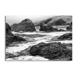 Ready2HangArt - Ready2hangart Bruce Bain 'Rock Cove II' Canvas Wall Art - This beautiful canvas wall art is from photographer Bruce Bain. His work employs elements of imagination to capture a variety of subjects. It is fully finished, arriving ready to hang on the wall of your choice.