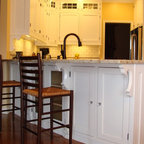 various kitchens - Handmade Solid maple kitchen, inset doors, classic hinges with so many custom features.