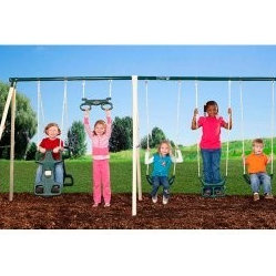Flexible Flyer Big Adventure Swing Set