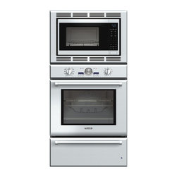 "Thermador Professional 30"" Triple Combination Wall Oven, Stainless 