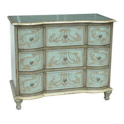 Crestview Collection - Crestview Collection CVFZR079 Garland 3-Drawer Chest - Crestview Collection CVFZR079 Garland 3-Drawer Chest