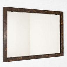 Contemporary Wall Mirrors by Uhuru Design