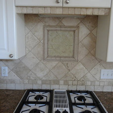 Traditional Kitchen by Custom Tile-Tile Installation