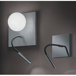 Luccas AP10 Wall Lamp \ Sconce By Modiss Lighting - Luccas AP 10 and AP 15 by Modiss is a series of new lights that embraces a new lighting technology.
