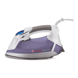 Singer - Singer Expert Finish Hand Iron Multicolor - EXPERT FINISH IRON - Shop for Irons from Hayneedle.com! Get professional results with theSinger Expert Finish Hand Iron. The LCD electronic temperature with nine settings allows for precise use on all types of fabrics. An alert sounds when the ideal temperature is reached. Other features include a 360-degree swivel cord for free motion ironing vertical steam for removing wrinkles from hanging garments and an auto-off function for safety. This iron has 1700 watts of power to help deliver a concentrated release of steam.About Singer:Since 1951 Singer has used practical design and creative innovation to become synonymous with sewing. They speak to every level of sewing allowing anyone to learn and develop a passion for creation! They manufactured the world s first electronic machines and make the most advanced machines to this day. They proudly help people express their creativity through sewing.
