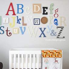 Contemporary Kids Decor by Etsy