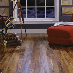 """25525 - Brazilian Hickory Solid Flooring - BR-111 5/8"""" x 3"""" Brazilian Hickory Solid"""