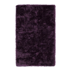 Kaleen - Kaleen Posh Collection Psh01-95 2'X3' Purple - Posh is the perfect rug to make your feet say ooh and ahhh!! Super plush and silky to the touch, this hot new shag rug is exactly what your room has been asking for! Find the perfect spot to curl up on after a long day or bring in your favorite pop of color for a complete room makeover. The Posh collection allows for diversity and fashionable style for all of your decorating needs with over 20 colors to choose from. Each rug is handmade in China of the finest 100% polyester.
