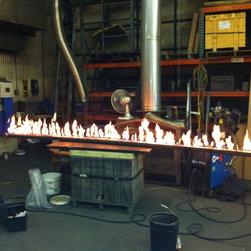 Linear Gas Fireplace -