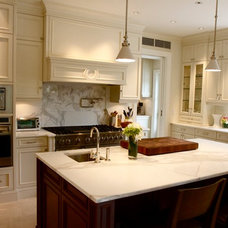 Traditional Kitchen Cabinets by Boiseries LGL Inc.