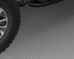 Auto Care Products, Inc. - Large Car Mat, 7.5' x 20', Metallic Graphite - Features:
