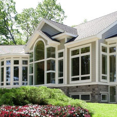 Traditional Exterior by Thelen Total Construction
