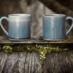 Dining - blue celadon mugs