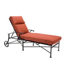 Outdoor Furniture - Charleston deep seating chaise lounge | Lawn & Leisure