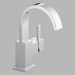 Delta Vero 553LF Single Handle Centerset Bathroom Sink Faucet - Sleek and crisp lines give the Delta Vero 553LF Single Handle Centerset Bathroom Sink Faucet an unmatched modern style you'll adore. Your choice of available finish rounds out the look of this durable brass faucet.About Delta FaucetPairing inspirational design with innovations that anticipate people's needs, Delta produces kitchen faucets, bathroom faucets, and shower systems that are as beautiful as they are functional. Delta puts all of their products through a strict regimen of durability testing. Delta Faucet is committed to green manufacturing processes and helping people to be smarter and more environmentally responsible in how they use water. All of these things add up to show how Delta is more than just a faucet.