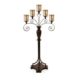 IMAX CORPORATION - CKI Spiral Floor Candelabra - CKI Spiral Floor Candelabra. Find home furnishings, decor, and accessories from Posh Urban Furnishings. Beautiful, stylish furniture and decor that will brighten your home instantly. Shop modern, traditional, vintage, and world designs.