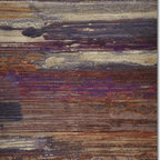 Pissarro area rug (8x11) - 8x11 Pissarro Rug.  Bold, dramatic and intense! These are words that come to mind when looking at the Pissarro rug collection. Purple, beige and a range darker tones blend in abstract combinations within this collection. It is for those who wish to make a bold statement. The pile is densely textured and durable! Other sizes and patterns available.