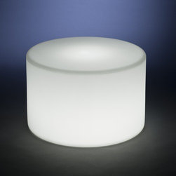 "Rotoluxe - Korto Round Planter - Features: -Made from 100% recycle plastic. -Round shape. -Impact and UV resistant. -Minimalist shape and design can convert to s stool or table for just about any use. -Perfect for displaying larger flora. -Ten years warranty. Specifications: -Plant Size: 1 - 2 gallons. -Cavity Dimensions: 9.5"" W x 8"" D. -Dimensions: 14"" H x 22"" W x 22"" D."